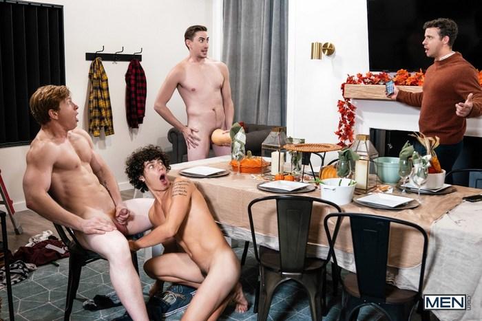 Gay Porn Kaleb Stryker Kyle Connors Nate Grimes Jack Hunter