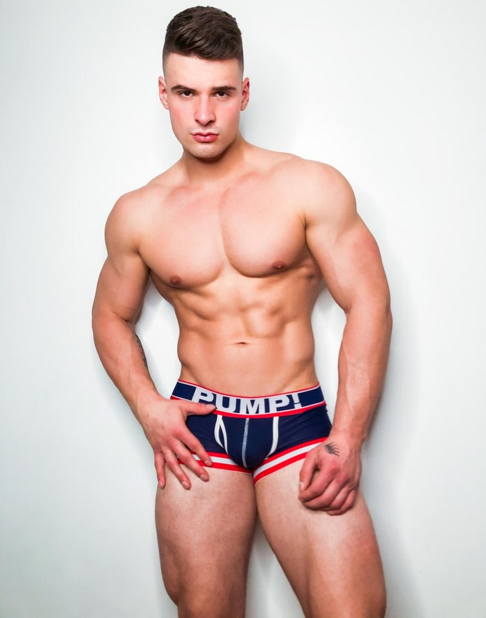 Malik Delgaty: Hot New Men.com Gay Porn Star, Hunky