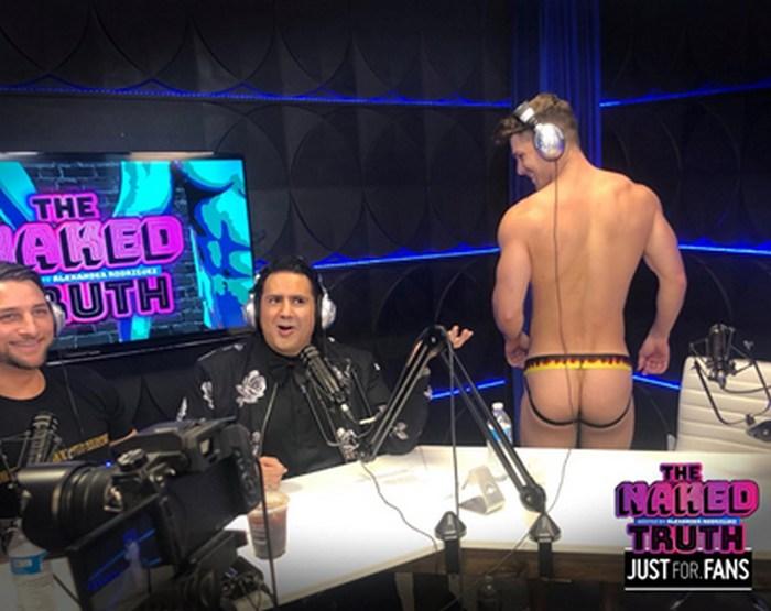 The Naked Truth JustForFans Podcast Gay Porn Devin Franco