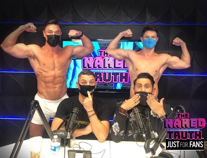The Naked Truth JustForFans Podcast Gay Porn Cade Maddox Devin Franco Anthony John Alexander Rodriguez