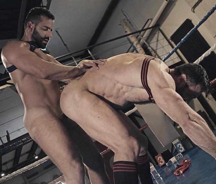 Gay Porn Massimo Arad Cole Keller Wrestlers Fuck WrestlingMale